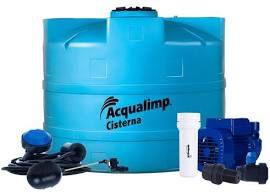 Cisterna Equipada para Agua da Chuva Acqualimp