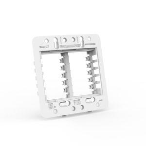 Suporte para placa espelho 4x4 - 6 módulos Beleze