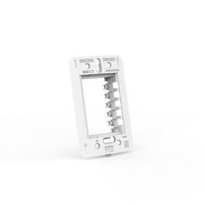 Suporte para placa espelho 2x4 - 3 Módulos Beleze