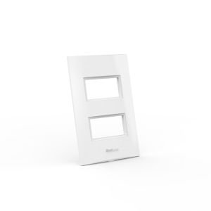 Placa para 2 módulos Distanciados 2x4 Beleze
