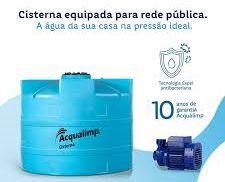 Cisterna Equipada para Rede Pública Acqualimp