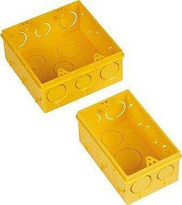 Caixinha de Luz Amarela Amanco