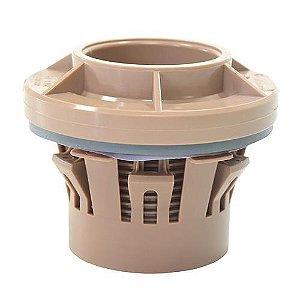 Adaptador Soldável Click com Flange para Caixa d'água Amanco