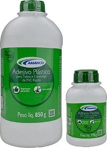 Adesivo Plástico PVC Frasco Amanco