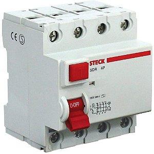 Interruptor Diferencial Residual DR 4p Steck