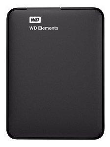 Disco Rígido Externo Western Digital Wd Elements 2tb Preto