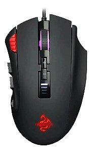 Mouse Gamer Barato Hoopson Gt-900 Rgb 12 Botões 12000dpi