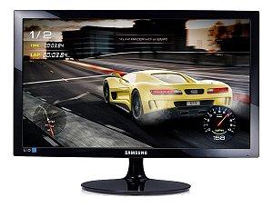 Monitor Gamer Samsung S24d332h Led 24  Preto Nf/garantia