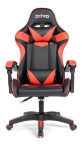 Cadeira Gamer Pctop Strike 1005 Vermelha Com Preto
