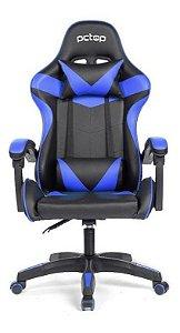 Cadeira Gamer Pctop Strike Se1005 Azul