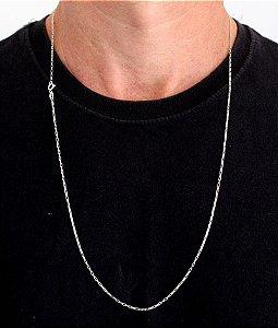 Corrente Prata 925 Tijolinho 1,5mm 70cm