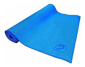 Tapete de Yoga NBR - 173x61x004CM - Azul Liveup
