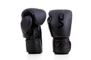 Luva de Boxe/Muay Thai Vollo Preta 12 Oz Training Lançamento