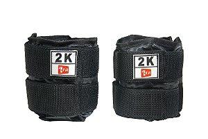 Caneleira / Tornozeleira De Peso 2KGs Premium 1 Fit