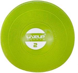 Mini Bola Fitness Pilates Exercícios Soft Ball 2kg - Liveup