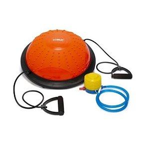 Meia Bola De Equilíbrio Yoga Ginástica Disco de Equilíbrio 46cm Diâmetro Live Up Sports