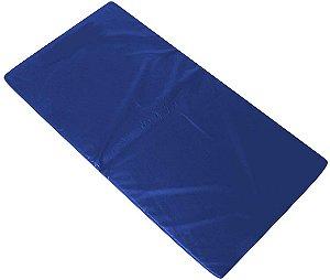 Colchonete Promocional de Ginástica e Treinamento Azul 90x40x3