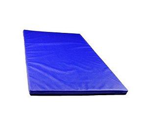 Colchonete de Ginástica e Treinamento Esportivo Azul 120x60x5