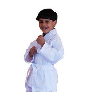 Kimono Jiu-Jitsu Judô Infantil 1 Fit