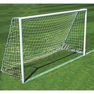 Par de Rede de Futebol Society 5, 20 m x 2,30 m Fio 2 mm Anti UV Nylon Fabio Sport