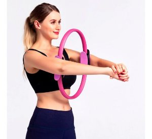 Anel De Pilates Arco Yoga Exercícios Fitness Ring MB FIT