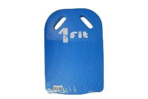 Prancha Natação Treino Azul Com Orifício - 1Fit