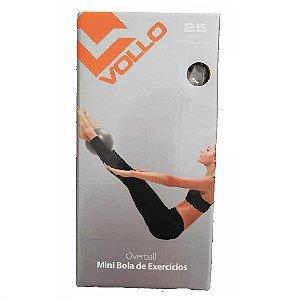 Mini Bola de Exercícios 25 cm Ball Overball Fitness Yoga Musculação Relaxamento Vollo