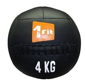 Bola Wall Ball 4Kg Para Crossfit Treinamento Funcional