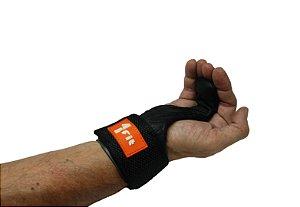 Luva Strap Gancho de Ferro Musculação 1 Fit