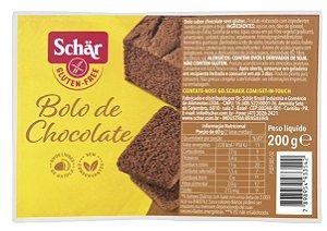 BOLO DE CHOCOLATE SCHAR 200G