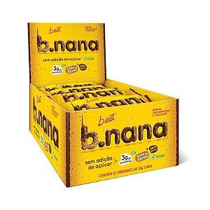 B.NANA AMENDOIM COM CHOCOLATE B.EAT 12x30g