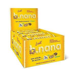 B.NANA AMENDOIM COM CHOCOLATE BRANCO B.EAT 12x30g