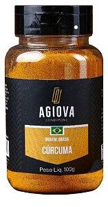 CURCUMA EM PO POTE 100GR AGIOVA