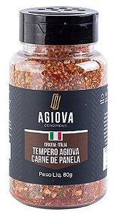 TEMPERO CARNE PANELA POTE 80GR AGIOVA