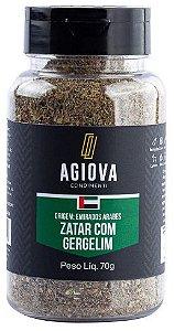 ZATAR COM GERGELIM POTE 70GR AGIOVA