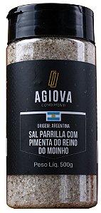 SAL DE PARRILLA PIMENTA DO REINO 500GR AGIOVA