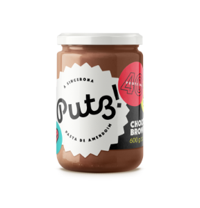 PUTZ! PASTA DE AMENDOIM CHOCO BROWNIE 600g