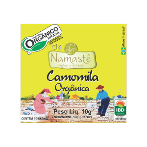 CHA CAMOMILA ORGANICO SACHE 10x10g