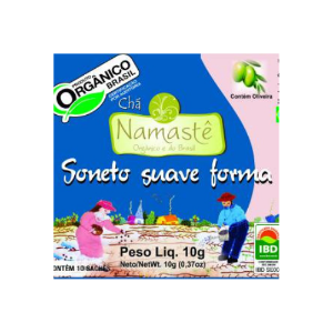 CHA SONETO SUAVE FORMA ORGANICO SACHE 10x10g