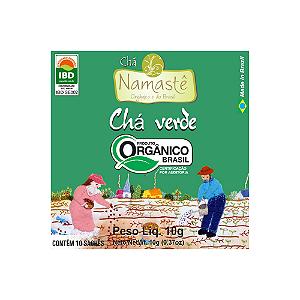 CHA VERDE ORGANICO SACHE 10x10g