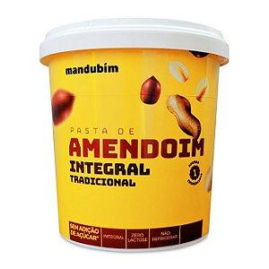 PASTA DE AMENDOIM INTEGRAL MANDUBIM 450g