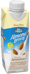 BEBIDA AMENDOA ALMOND BREEZE BAUNILHA 250ML