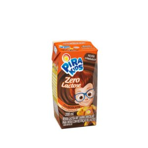 BEBIDA LACTEA PIRAKIDS ZERO LACTOSE CHOCOLATE 200ML