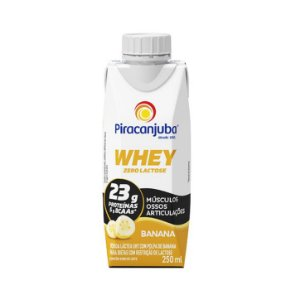 BEBIDA LACTEA WHEY BANANA PIRACANJUBA 250ML