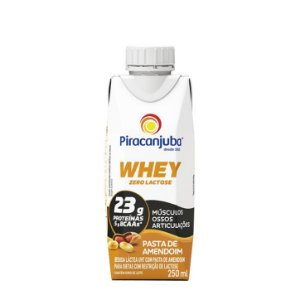 BEBIDA LACTEA WHEY AMENDOIM PIRACANJUBA 250ML