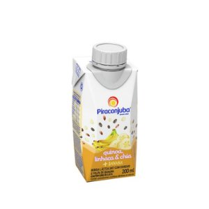BEBIDA LACTEA C/CEREAIS BANANA PIRACANJUBA 200ML