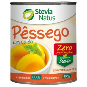 PESSEGO EM CALDA STEVIA NATUS 800G