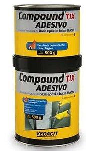 ADESIVO ESTRUTURAL EPOXI 1,0KG - COMPOUND ADESIVO