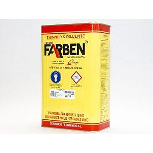 THINNER P/DEMARCACAO VIARIA 5,0L - 5100 - FARBEN