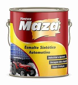 ESMALTE AUTOMOTIVO FOSCO 3,6L PRETO FOSCO - MAZA